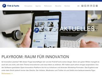 Main page screenshot of ffpress.net
