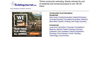buildingjournal.com screenshot