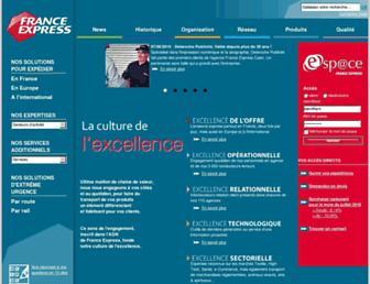 Thumbshot of France-express.com