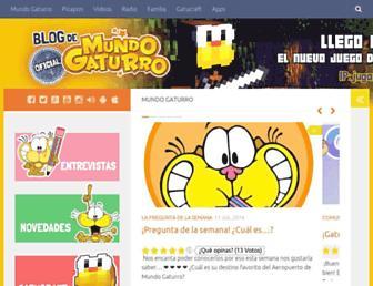 blog.mundogaturro.com screenshot