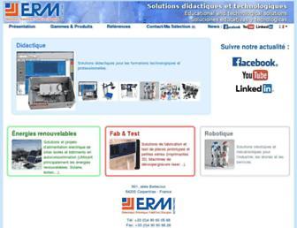 erm-automatismes.com screenshot