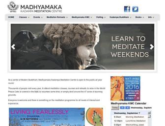 Thumbshot of Madhyamaka.org