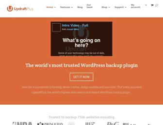 Thumbshot of Updraftplus.com