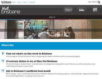 Thumbshot of Visitbrisbane.com.au