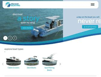 discoverboating.com screenshot