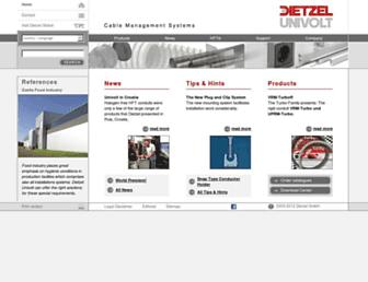 dietzel-univolt.com screenshot