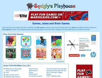 squiglysplayhouse.com screenshot