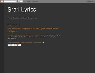 s1lyrics.blogspot.com screenshot