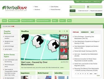 Thumbshot of Herballove.com