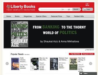 libertybooks.com screenshot