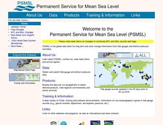 psmsl.org screenshot