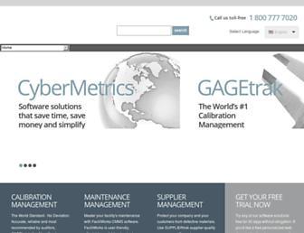 cybermetrics.com screenshot