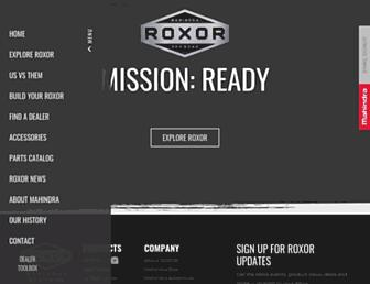 roxoroffroad.com screenshot