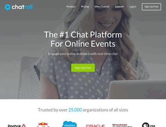 Thumbshot of Chatroll.com