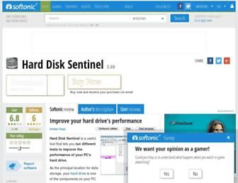 hard-disk-sentinel.en.softonic.com screenshot
