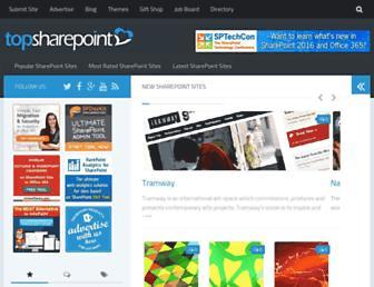 Thumbshot of Topsharepoint.com