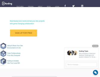 Thumbshot of Koding.com