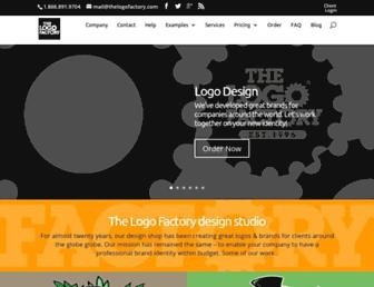 Thumbshot of Thelogofactory.com