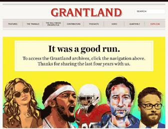Thumbshot of Grantland.com
