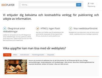 docplayer.se screenshot
