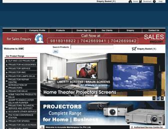 allprojectordelhi.com screenshot