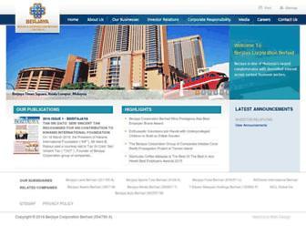 berjaya.com screenshot