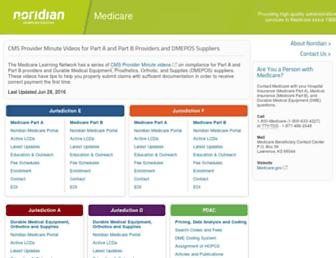 Thumbshot of Noridianmedicare.com