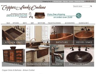 coppersinksonline.com screenshot