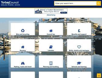 torbay.gov.uk screenshot