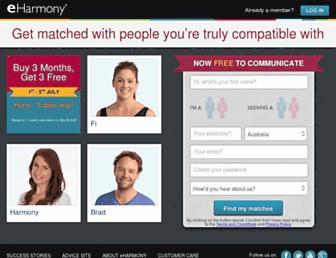 Thumbshot of Eharmony.com.au