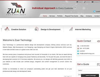 Thumbshot of Zuantechnology.com