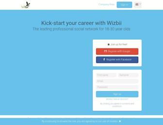 wizbii.com screenshot