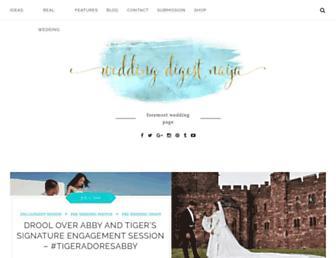 weddingdigestnaija.com screenshot