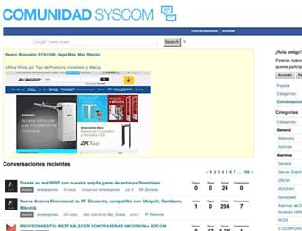 foro.syscom.mx screenshot
