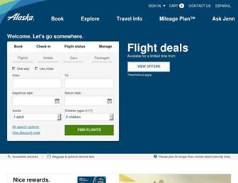 Thumbshot of Alaskaair.com