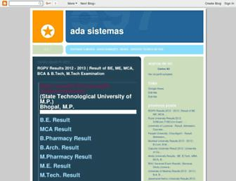 adasistemas.blogspot.com screenshot