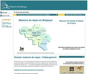 Thumbshot of Lesmaisonsderepos.be