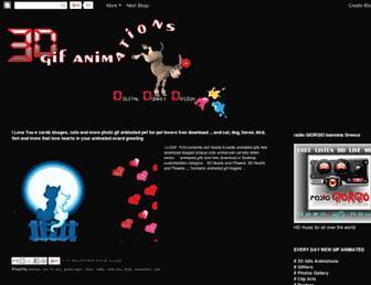 3d-gif-animations.blogspot.com screenshot