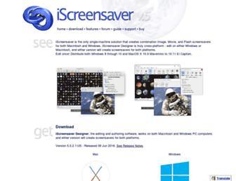 iscreensaver.com screenshot