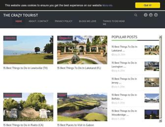 thecrazytourist.com screenshot