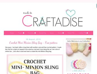made-in-craftadise.blogspot.com screenshot