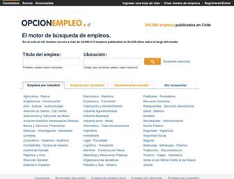 opcionempleo.cl screenshot