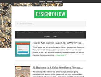 designfollow.com screenshot