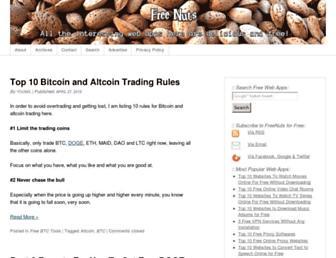 Thumbshot of Freenuts.com