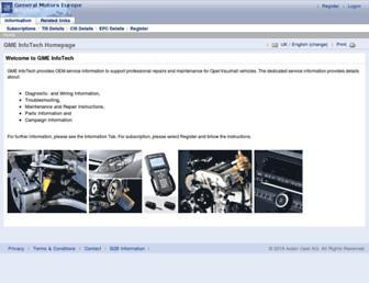 gme-infotech.com screenshot