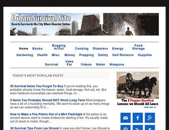 Thumbshot of Urbansurvivalsite.com