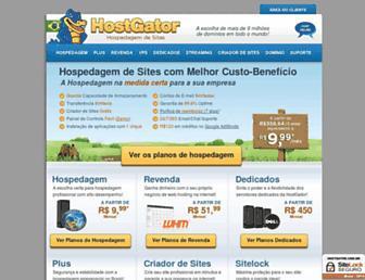 hostgator.com.br screenshot