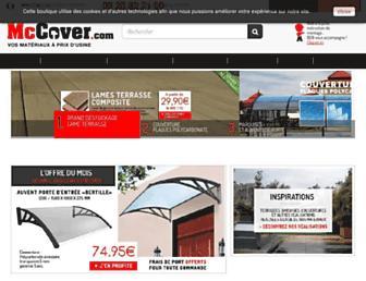 mccover.com screenshot