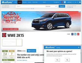 wwe-2k15.en.softonic.com screenshot