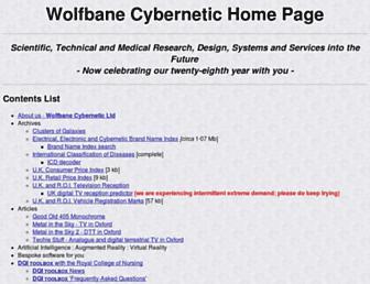 wolfbane.com screenshot